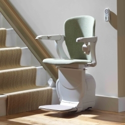Stairlifts starla for straight stairs